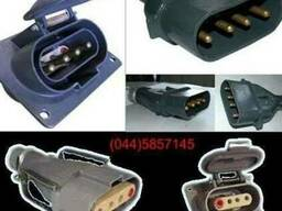 Вилка кабельная ШК 4х60 разъем силуминовый