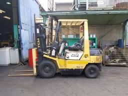 Вилочный бензиновый автопогрузчик TCM на 2. 5 тонны