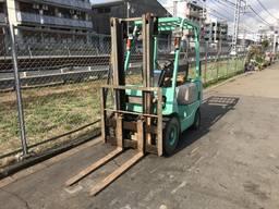 Вилочный погрузчик/навантажувач Mitsubishi на 1.5 тонны