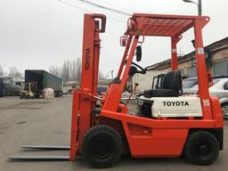 Вилочный погрузчик навантажувач Toyota на 1. 5 тонны
