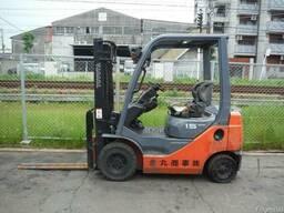 Бензиновый автопогрузчик из Японии 02-8FGL15 Toyota Тойота