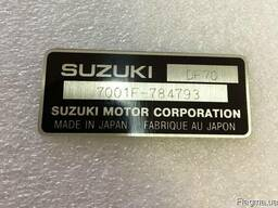 Вин табличка на лодочный мотор Suzuki DT DF15 9. 9