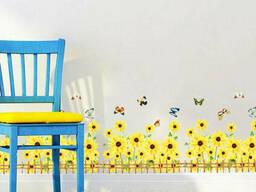 Виниловая интерьерная наклейка на стену, мебель для дома. ..