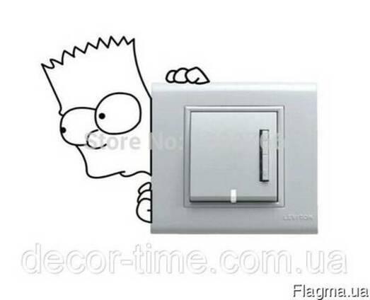 Виниловые наклейки на розетки и выключатели (031)