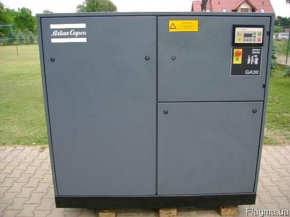 Винтовой компрессор б/у Atlas Copco 30 кВт