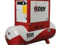 Винтовой компрессор Ozen с ресивером и осушителем воздуха