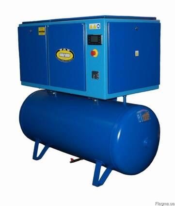 Винтовой компрессор WAN NK60 15 кВт 8/10/13 бар с ресивером
