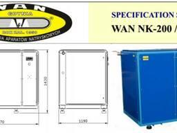 Винтовой компрессор WAN NK-200/ 55 квт. (9, 5 куба, 8 бар)