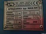 Винтовой компрессор wan nk60 б/у 15 кВт 1,46 м3/мин - фото 2