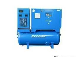 Винтовой компрессор Eccoair Compact с осушителем воздуха