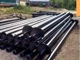 Винтовые сваи для промышленных сооружений 89*2500*3500
