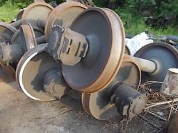 Вісь Д 130 мм колесо 900 мм