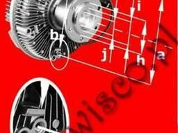 Вискомуфта(гидромуфта)MAN TGM EURO4 двигун D08 51.06630.0127