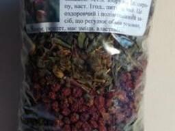 Витаминный травяной чай с рябиной
