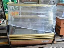 Витрина холодильная бу Cold C-14 G. Витрина кондитерская бу.