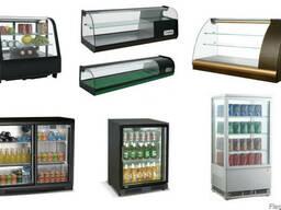 Витрины настольные Суши-кейс Барные холодильники. Рассрочка