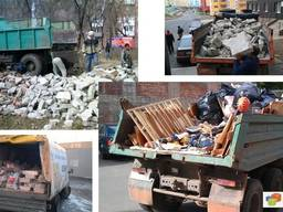 Вивіз буд. сміття, дерева, меблів, хлама Вивоз строительного