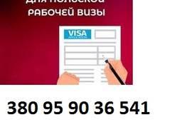 Виза. Приглашение для открытия Польской визы