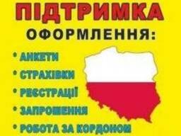 Виза в Польшу и Чехию.