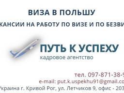 Виза в Польшу, Приглашение, Анкета, Страхование для Европы