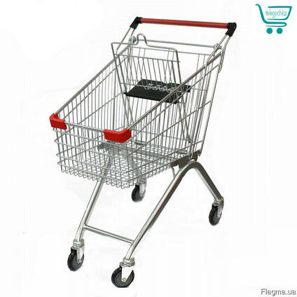 Візок для покупця на 80 літрів АкціЯ #Візок супермаркету!