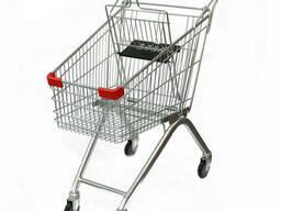 Візок для покупця на 80 літрів #Візок супермаркету!