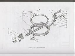 Венец ДЗ-122Б. 02. 02. 001 автогрейдер ДЗ-122