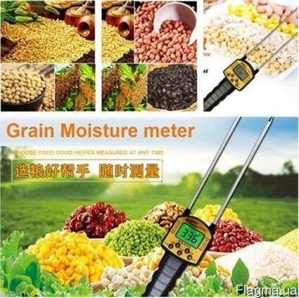 Влагомер измеритель влажности зерна и сыпучих веществ AR991