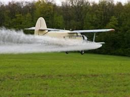 Внесение карбамидо-аммиачной смеси вертолетами самолётами