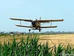 Внесение сыпучих минеральных удобрений: подкормка с самолета