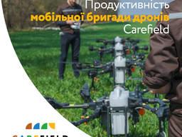 Внесення ЗЗР дронами, дрон\внесение СЗР