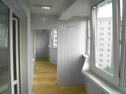 Внутренняя отделка балконов и лоджий в Одессе