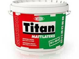 Водоэмульсионная краска Mixon Titan Mattlateks, 5 л