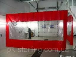 Водостойкая ПВХ штора для мойки, склада, накидка-марки Sioen