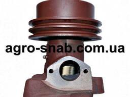 Водяной насос (помпа) ЗИЛ-5301 (бычок) шкив 2-х ручьевой. ..