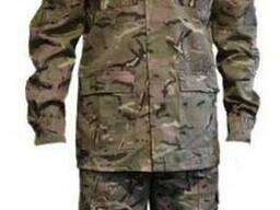 Военная форма камуфляж Мультикам отложенный воротник