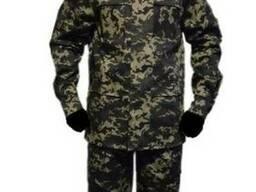 Военная одежда пиксель пограничный