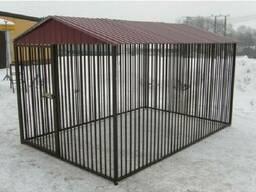 Вольер для собаки из металла №4