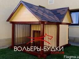 Вольеры для собак,будки для собак Киев.