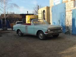Волга ГАЗ-24 Кабриолет купе изготовление кузова