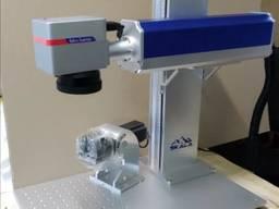 Волоконный лазерный гравер по металлу 50W JPT Маркировщик 200*200