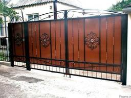 Ворота - фото 4