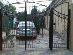 Ворота с профнастилом (Профлистом)