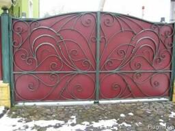 Ворота. Гаражные ворота. Навес. Козырек