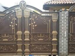 Ворота и калитки, художественна ковка