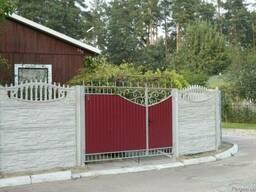 Ворота и калитки из металла, профнастила