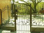 Ворота и калитки металлические - фото 1