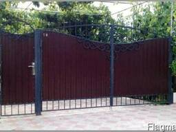 Ворота и калитки (раздвижные, откатные, автоматические)