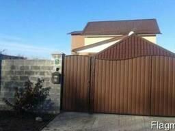 Ворота из профнастила - фото 2