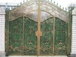 Ворота Изготовление металлоизделий одесса